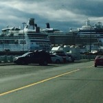 Two Cruise Ships at Ogden Point