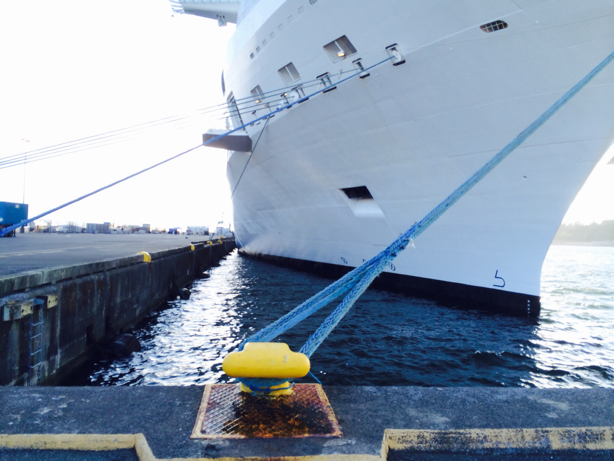 Ropes Tieoffs for Celebrity Solstice