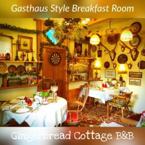 Breakfast Room Gingerbread Cottage Bed and Breakfast Victoria BC Canada