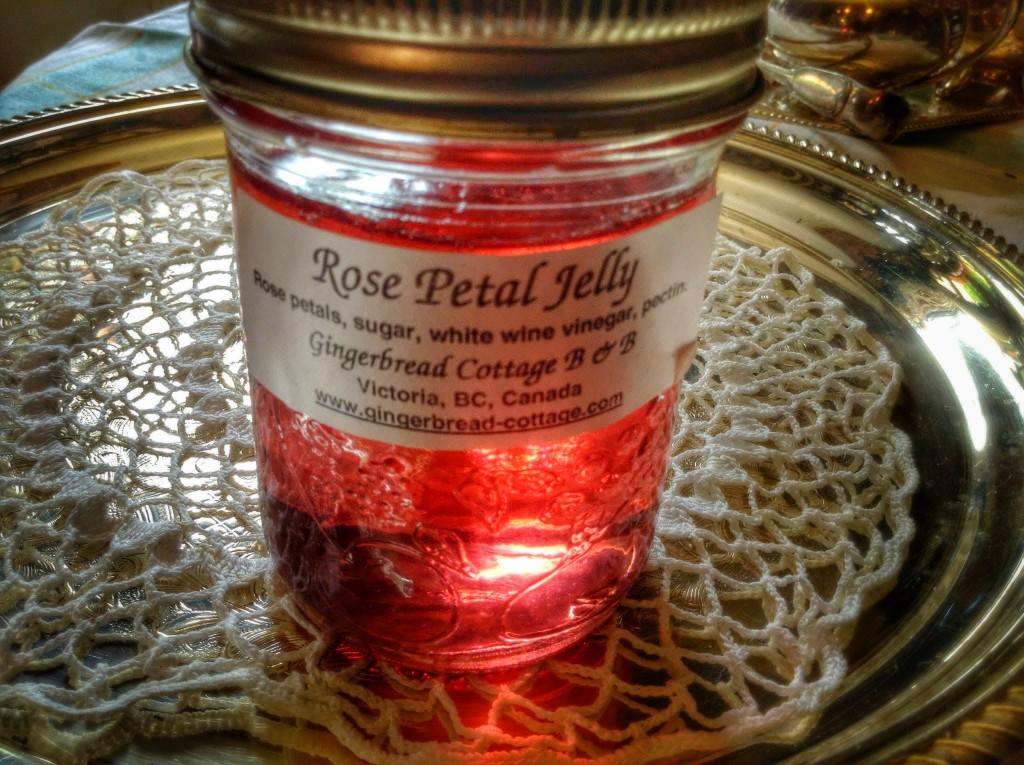 Victorian Era Recipes - Rose Petal Jelly