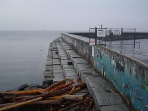 Victoria BC Breakwater