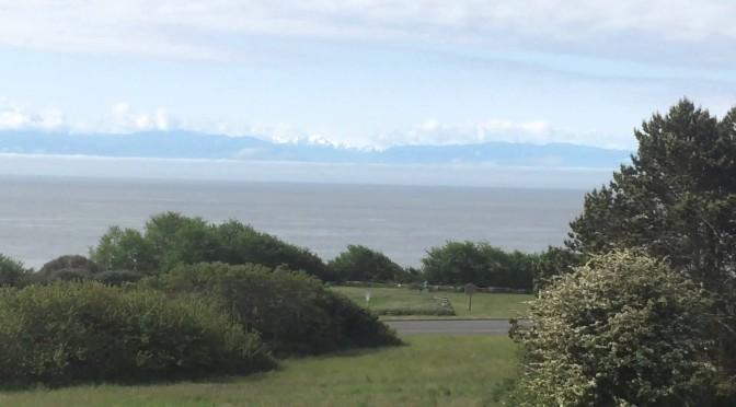Salish Sea from Victoria BC
