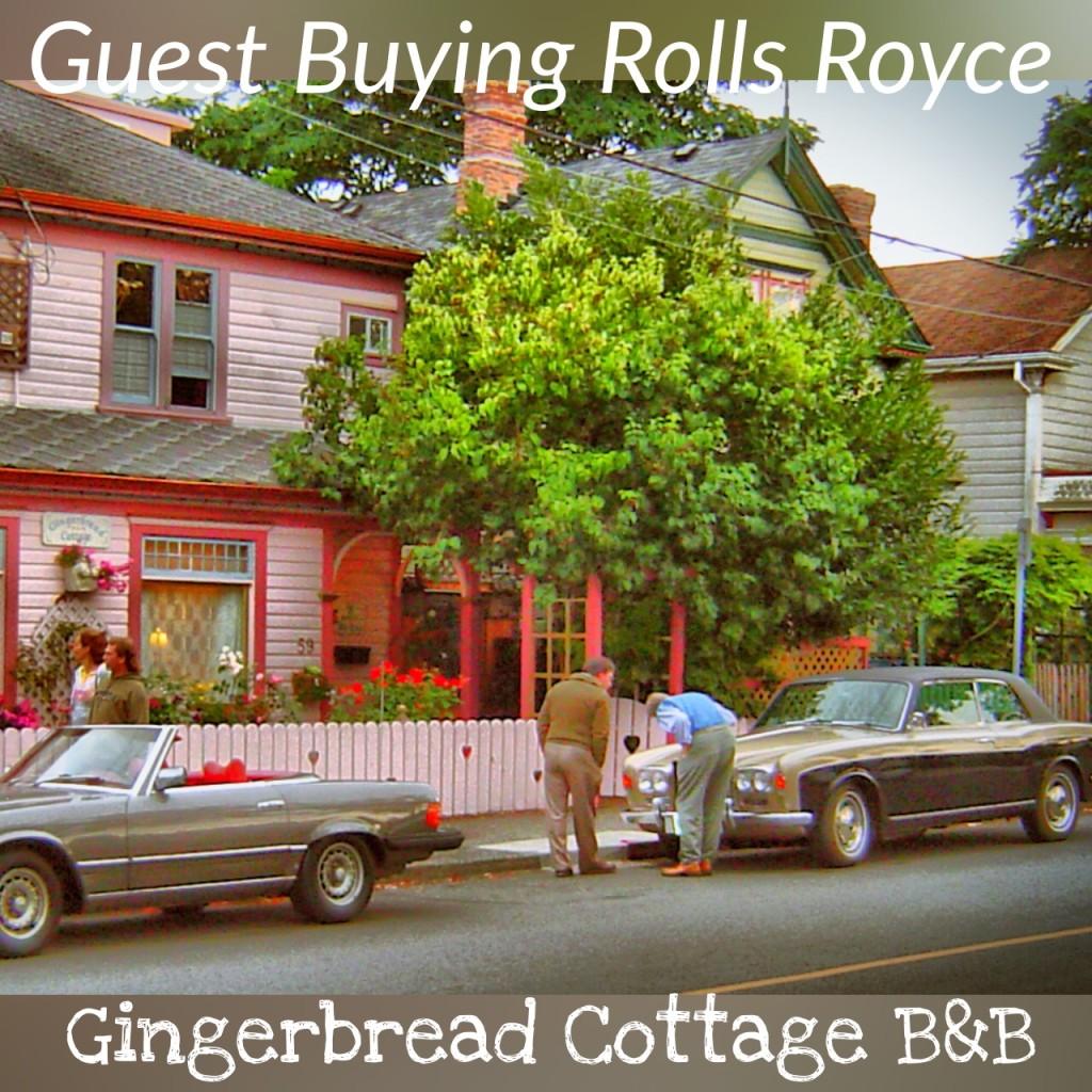 Gingerbread Cottage Bed Breakfast Reviews Rolls Royce Deal