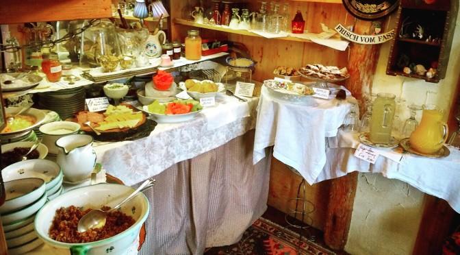 Gingerbread Cottage Buffet