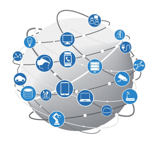 Collection of internet and computer networking icons