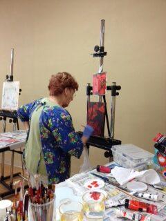Ginny at work