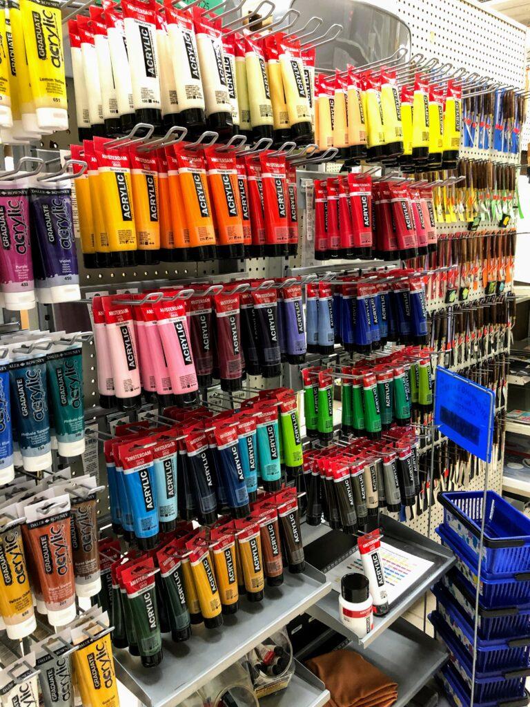 Amsterdam Select Acrylic Colors