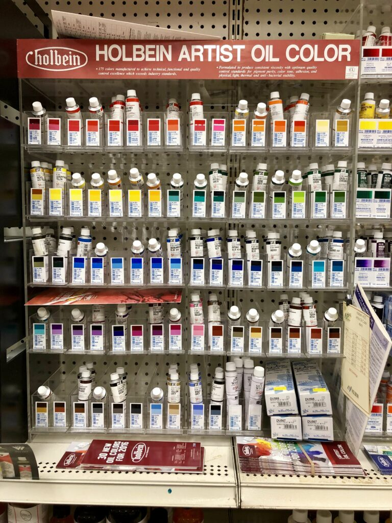 Holbein- Artist Oil Color and DUO Oil Color (Water Soluble)