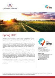 Financial Momentum Newsletter