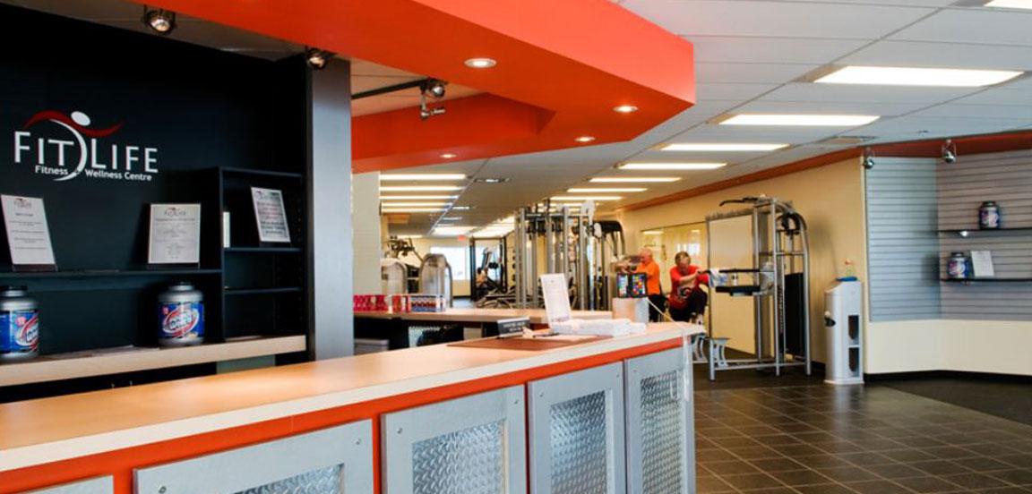 Gym facilites office rental