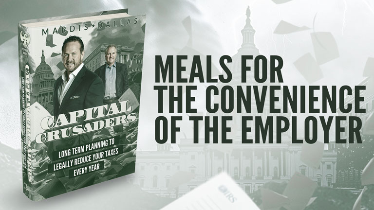 Meals For The Convenience Of The Employer