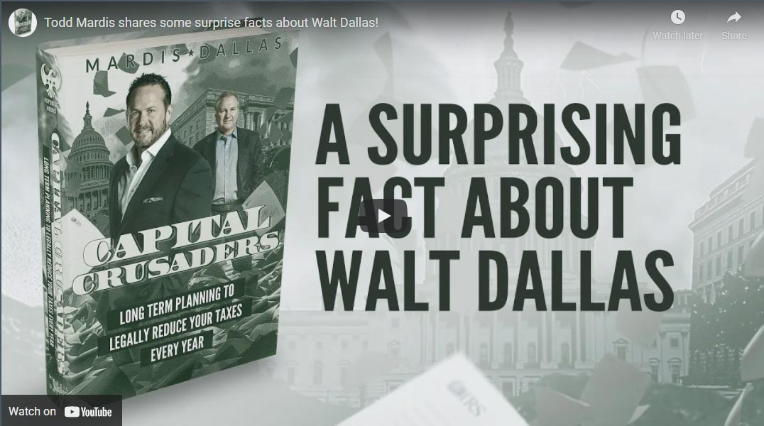 What Is A Surprising Fact About Walt Dallas?