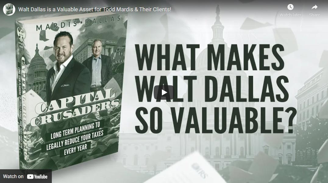 Why Is Walt Dallas Such A Valuable Asset?