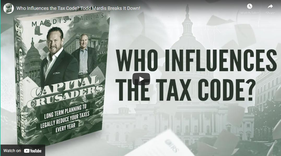 Who Influences The Tax Code?