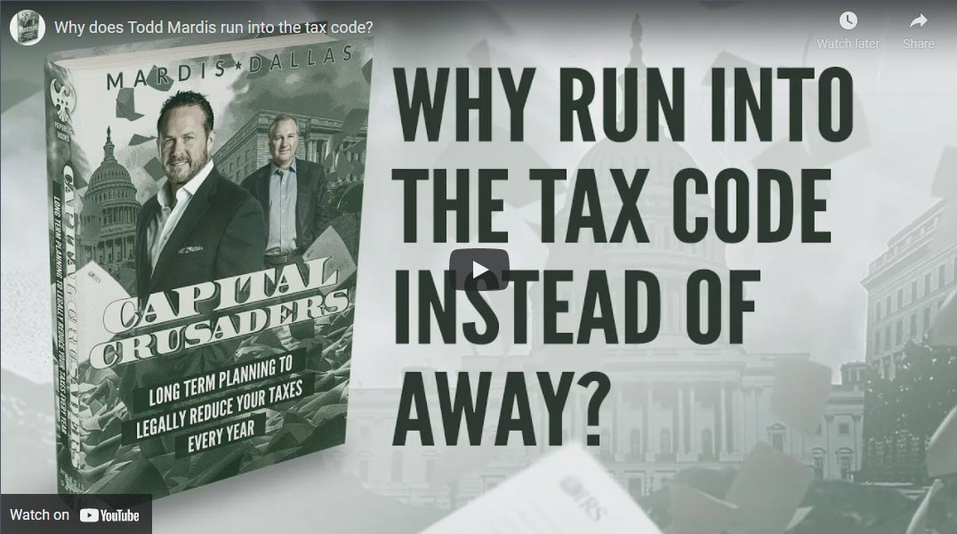 Why Run Into Tax Codes Instead Of Away?