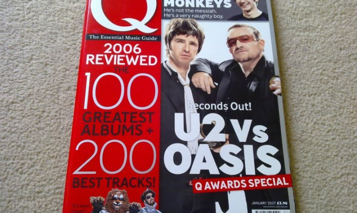 Oasis and U2 to Be Separated During Recess