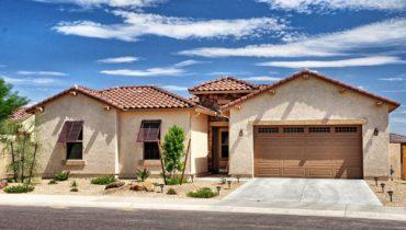 Arizona single level home with master retreat