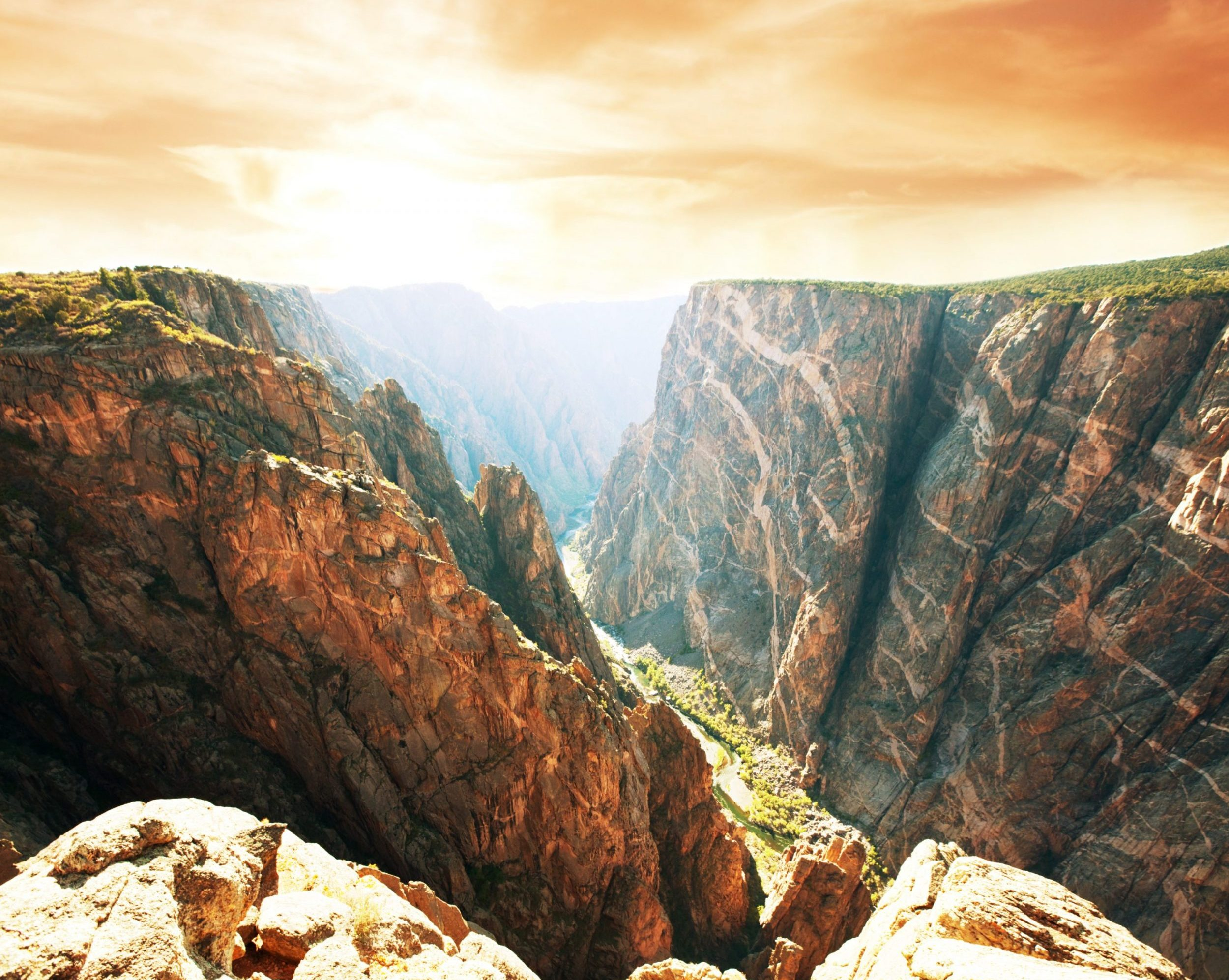 Page Background of Black Canyon of the Gunnison
