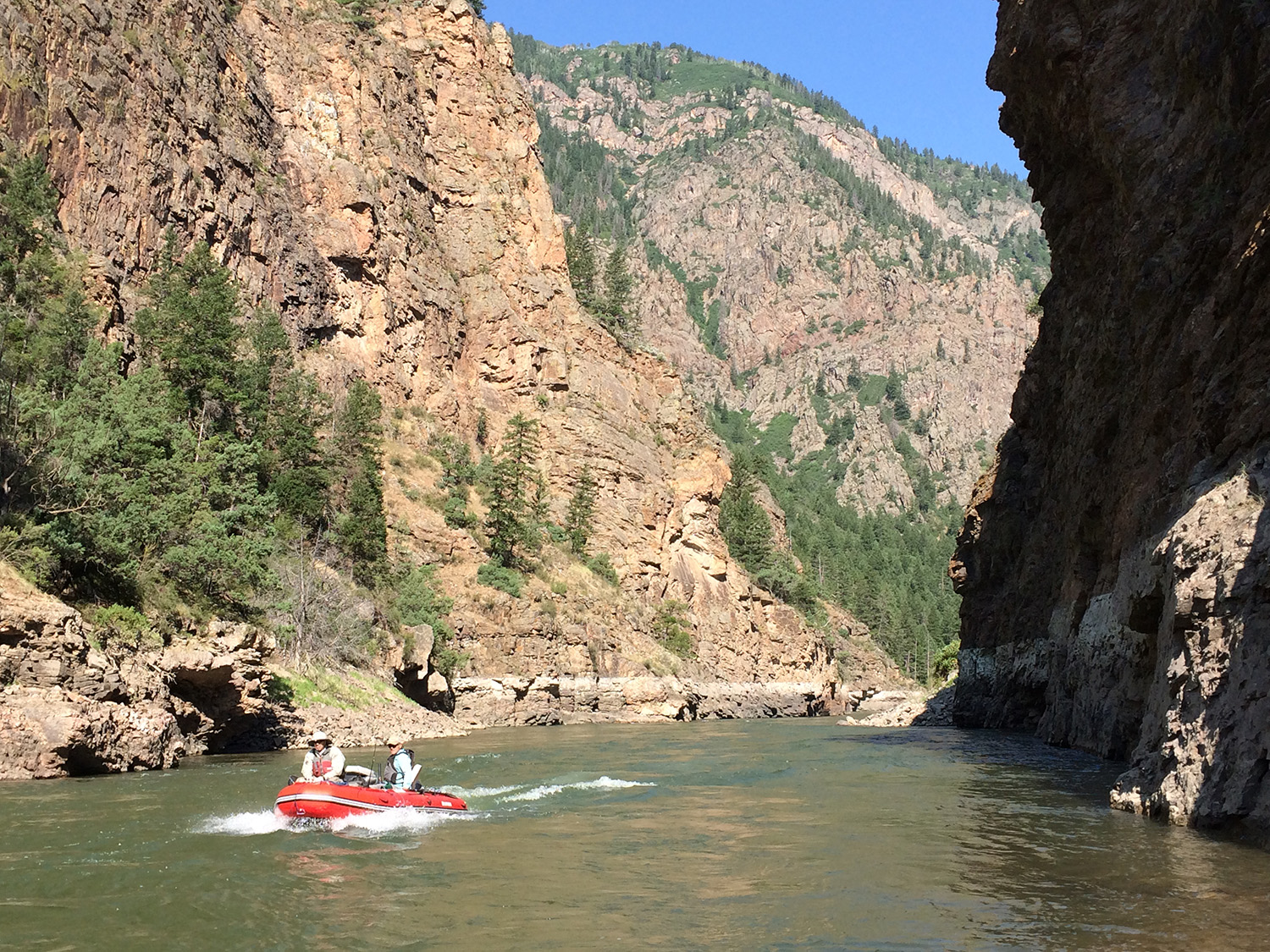 Boating the Gunnison River