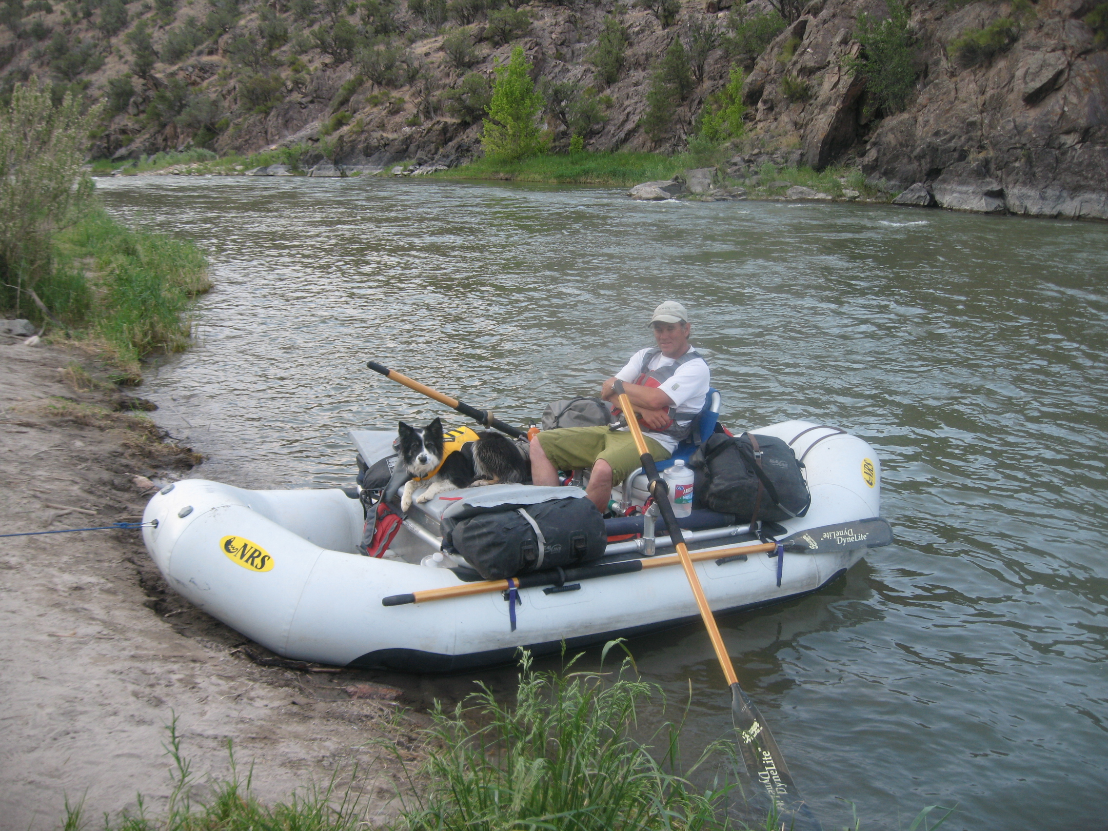 Rafting Colorado Gunnison River