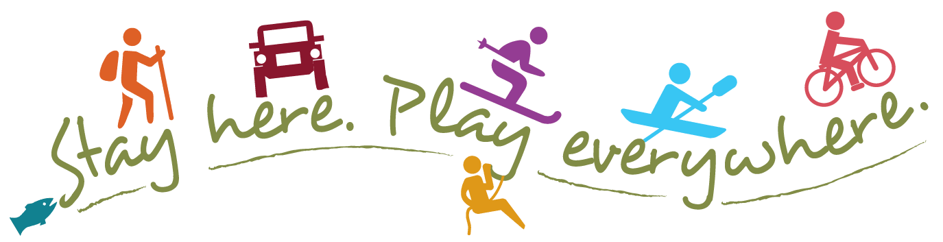 Montrose CO - Stay Here, Play Everywhere Logo
