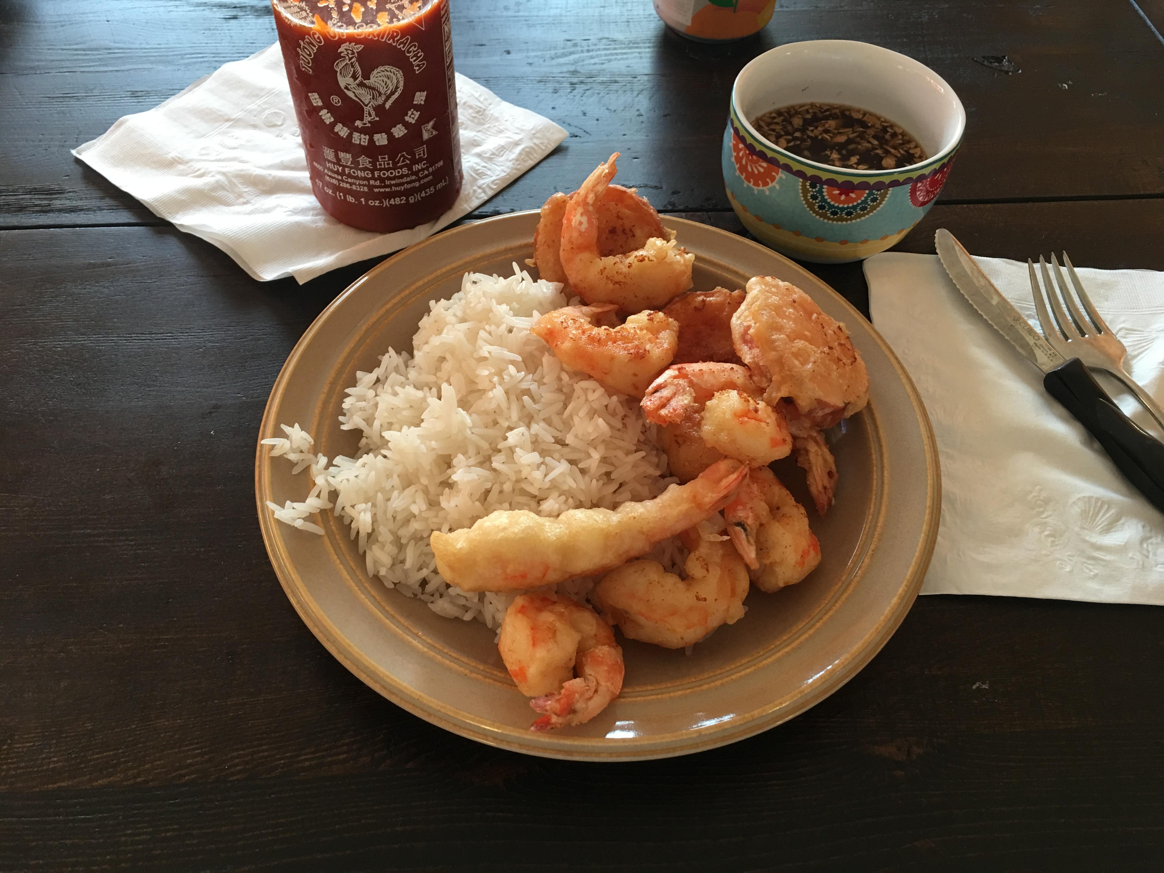 Shrimp & Sweet Potato Tempura