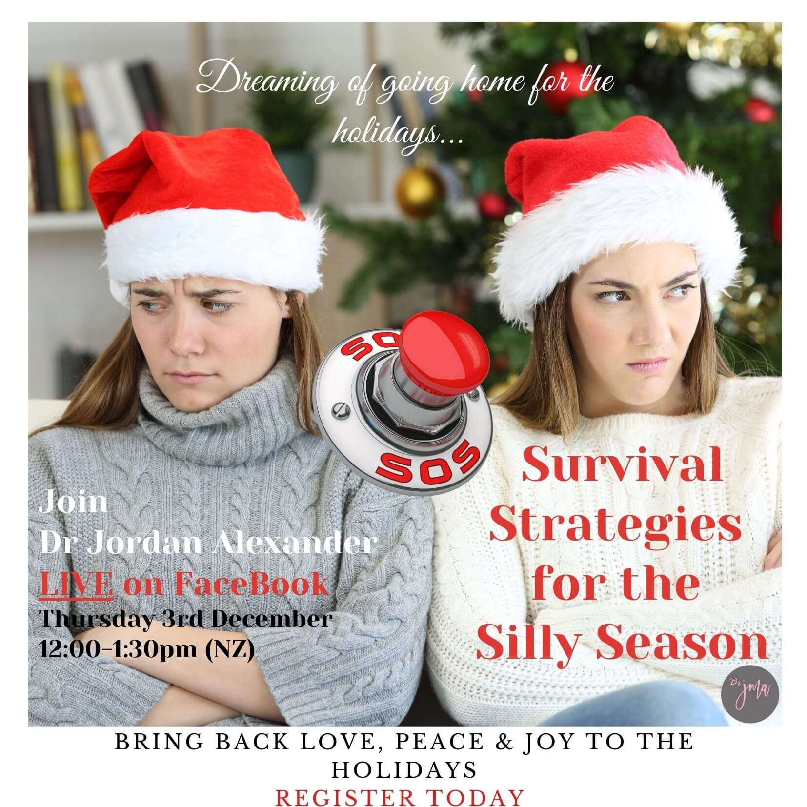 Survival Strategies for the Silly Season LIVE EVENT (1)
