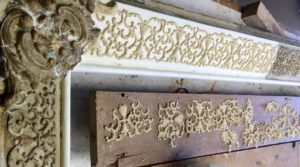Rich and Davis Frame Makers ornate frame repair and restoration compo ornaments