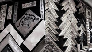 Frame sample wall rich and davis art conservation frames