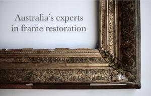 Rich and Davis picture frame restoration experts melbourne australia