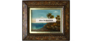 inciso picture frame restoration repair completed melbournes best picture frame repair