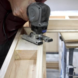 Wood Machining picture frame Router