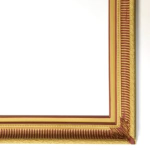 Rich and Davis Hedingham custom picture frame traditional gesso colours