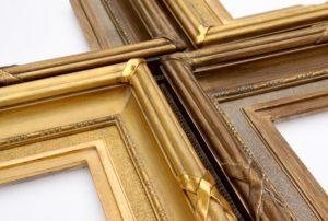 Rich and Davis ornamental gilded custom picture frame john thallon reproduction