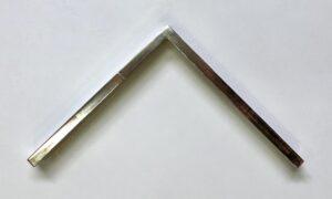 GPBX0212 Mat 23K gold with velvet brown bole