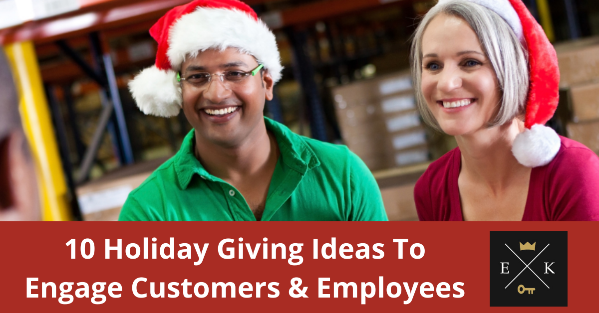 Top 10 Holiday Giving Ideas