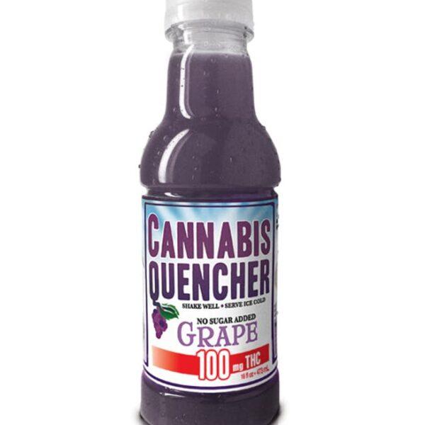 Grape Cannabis Quencher 100mg
