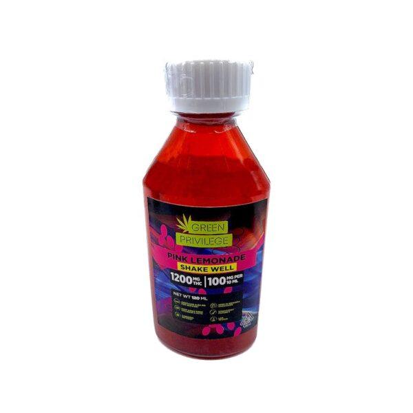 THC Syrup - Pink Lemonade 1200mg