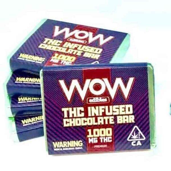Wow Edibles Chocolate Bar 1000 mg