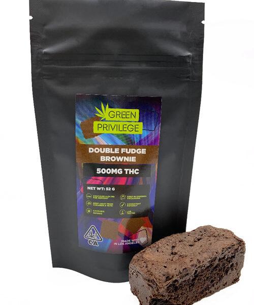 Double Fudge Brownie 500mg