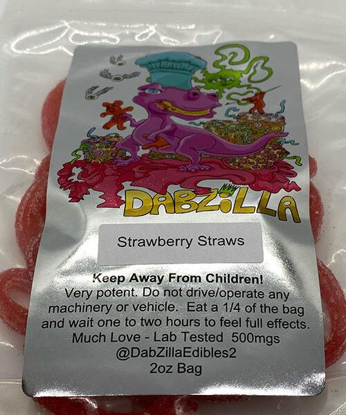 Strawberry Straws