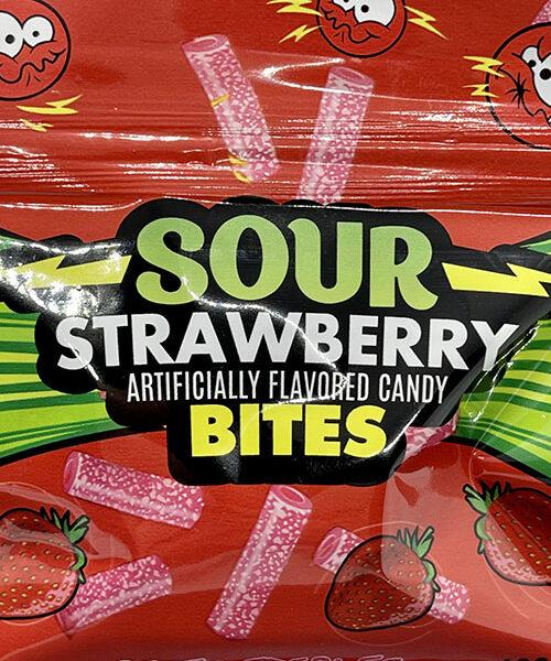 Sour Strawberry Bites