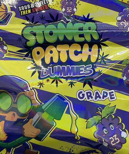 Stoner Patch Gummies Grape