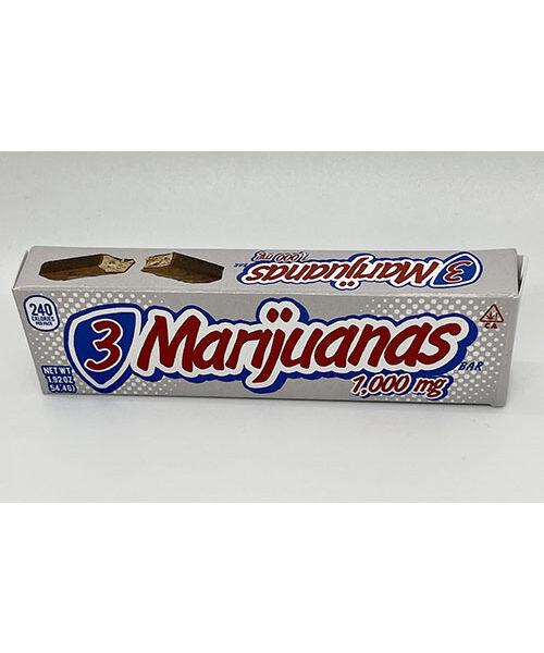 3 Marijuana's Bar - New!!!