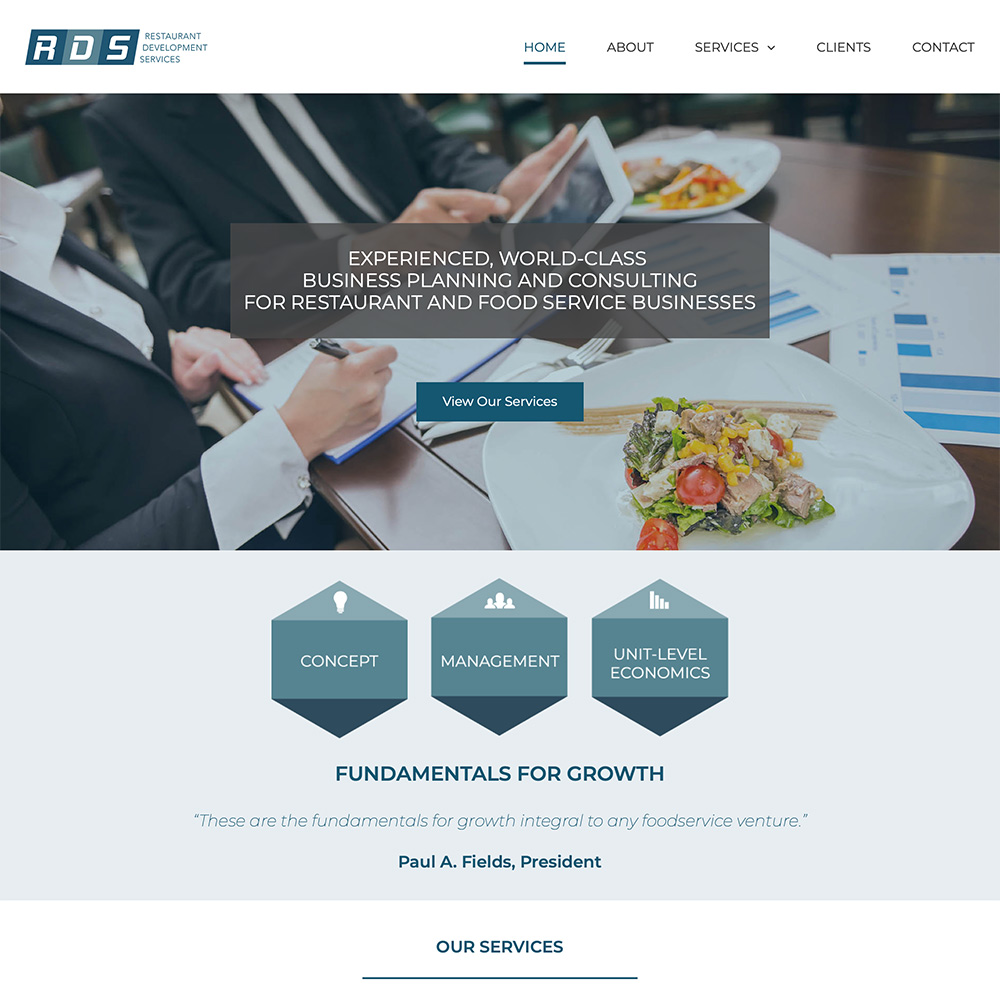 Restaurant Development Services