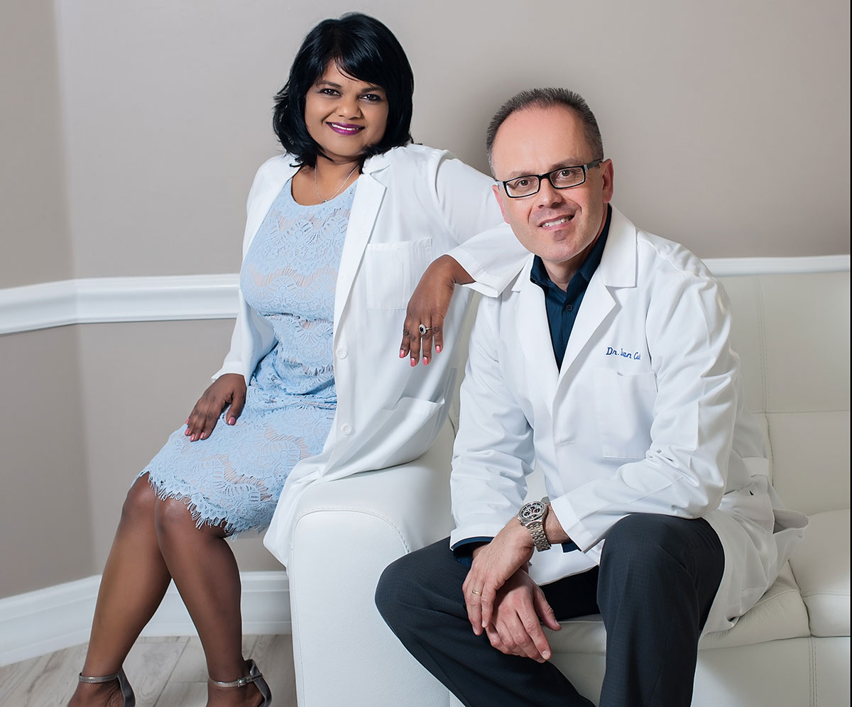 Dr. Jelin Israel-Cvik and Dr. Ivan Cvik