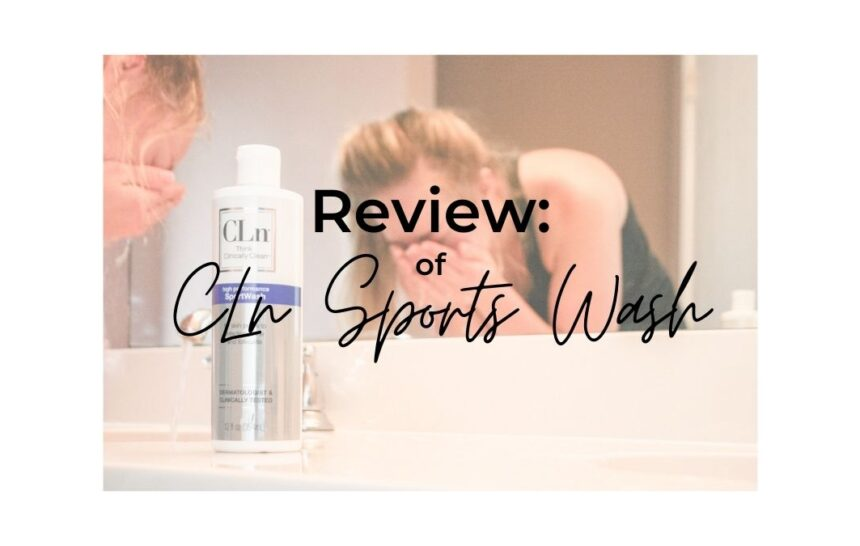 Review: CLn sports wash