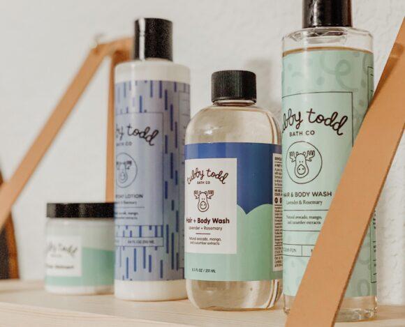 Little Ones bath essentials- Tubby Todd