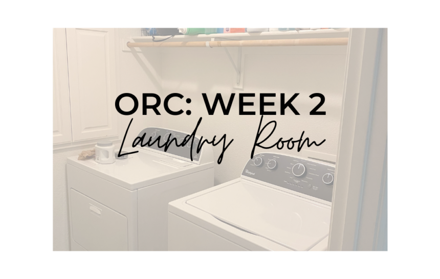 ONE ROOM CHALLENGE WEEK 2: LAUNDRY ROOM