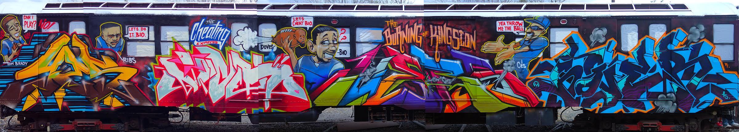 The Burning Of Kingston 2, 2015.